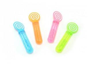 Nyalókás buborékfújó többféle színben (1 db)