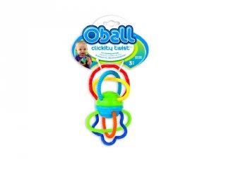 Oball, Clickity Twist (babajáték, rágóka, 0-2 év)