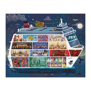 Óceánjáró kirakó, Janod 100 és 200 db-os puzzle (6-12 év)