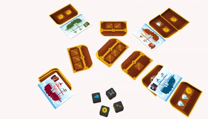 Oh my gold, kalózos kockajáték (5-12 év)
