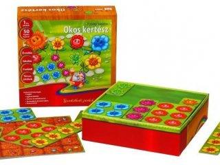 Okos kertész (egyszemélyes vagy csoportos logikai fejlesztő játék, 4-99 év)