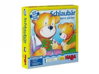 Okos medve számolni tanul (Haba, matekos társasjáték, 4-8 év)