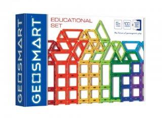Oktató készlet, GeoSmart mágneses építőjáték (5-12 év)