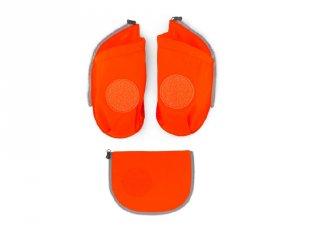 Oldalzseb Ergobag Cubo ergonómikus iskolatáskához, narancssárga