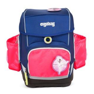 Oldalzseb Ergobag Cubo ergonómikus iskolatáskához, pink
