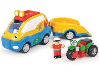 Ollie autómentője (Wow Toys, autómentő és quad egyben, 18 hó-5 év)