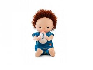 Öltöztethető Noa baba pelenkával, cumisüveggel, bébijáték (Lilliputiens, 83112)