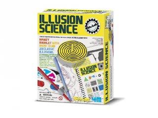 Optikai kísérletező készlet, az illúzió tudománya (4M, tudományos játék, 6-10 év)