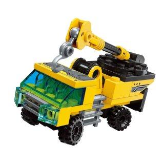 Óriás dömper, 8 az 1-ben Lego kompatibilis építőjáték készlet (QMAN, 1806, 6-12 év)