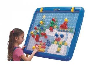 Óriás fali tábla pötyihez, 84 x 70 cm (Miniland, 95070, kreatív játék, 2-5 év)