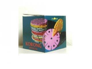 Óriás korong retro játék (30 db-os magyar építő játék, 3-5 év)