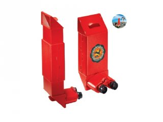 Óriás periszkóp gyerekeknek, piros (Navir, 3010, tudományos játék, 6-12 év)