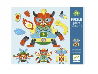 Óriás puzzle SzörnyElek, Djeco 39 db-os kirakó - 7119 (4-7 év)