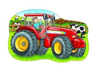 Óriás puzzle: Traktor (Orchard, big tractor, 62x41 cm, 25 db-os nagyméretű puzzle, 3-6 év)