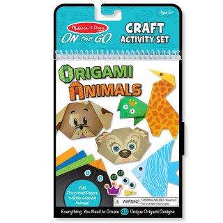 Origami, Állatok (MD9442, 40 db-os hajtogató készlet, 5-14 év)
