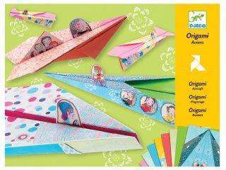 Origami, Csini repülők (Djeco, 8769, kreatív játék, 7-13 év)