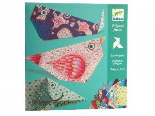 Origami, Nagy állatok (Djeco, 8776, kreatív játék, 5-10 év)