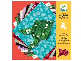 Origami, Papírok (Djeco, 8763, kreatív játék, 7-13 év)