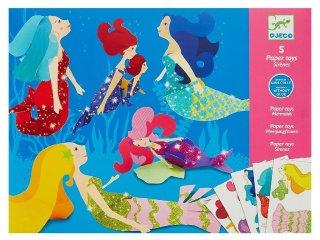 Origami, Sellők (Djeco, 9703, kreatív  játék, 6-11 év)