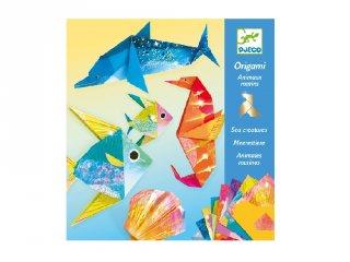 Origami Tengeri lények, Djeco hajtogatós kreatív játék - 8755 (7-13 év)