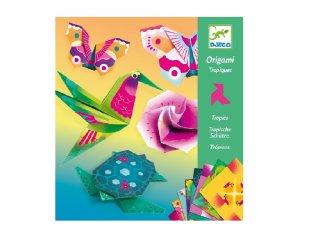 Origami Trópusok, Djeco hajtogatós kreatív játék - 8754 (7-13 év)