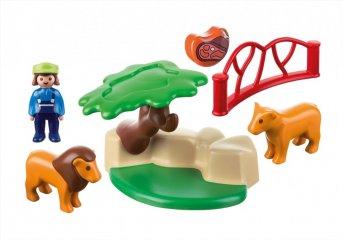 Oroszlánkert kicsiknek, Playmobil szerepjáték (9378, 1,5-4 év)