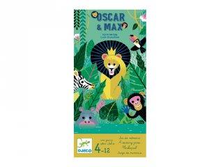 Oscar & Max, Djeco memóriafejlesztő társasjáték - 8575 (4-12 év)