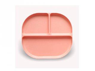 Osztott tányér, korall