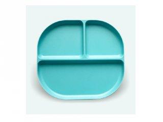 Osztott tányér, türkiz