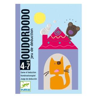 Oudordodo (Djeco, 5106, nyomozós kérdezz-felelek kártyajáték, 4-7 év)