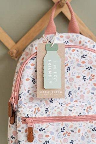 Ovis hátizsák tavaszi virágos mintával, Little Dutch gyerek kiegészítő (4941)