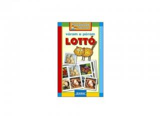 Óvodások játéktára, Várom a párom lottó (Granna, állatos párosító társasjáték, 3-9 év)