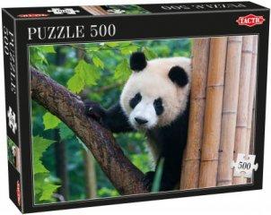Panda, 500 db-os puzzle (Tactic, 53558, puzzle 500 db, 6-99 év)