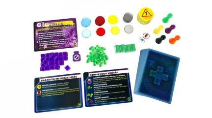 Pandemic kiegészítő Szükségállapot, kooperatív társasjáték (Z-man,  8-99 év)