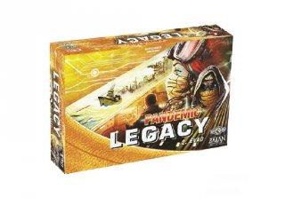 Pandemic Legacy 2. évad, kooperatív társasjáték (Z-man, 13-99 év)