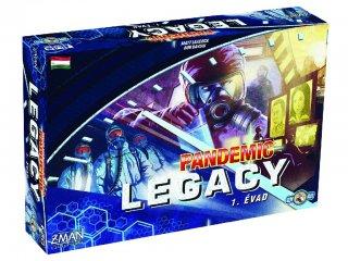 Pandemic, Legacy (Z Man, nyomozós kooperatív társasjáték, 8-99 év)