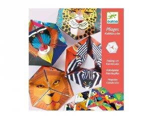 Papír tátika készítés Flexanimals, Djeco kreatív játék - 9661 (7-13 év)