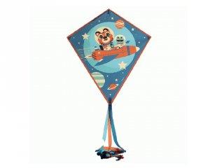 Papírsárkány Rocket, Djeco üvegszálas kerti játék - 2158 (3-12 év)