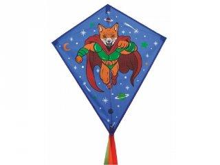 Papírsárkány, Super Foxy (Djeco, 2154, üvegszálas kerti játék, 3-12 év)