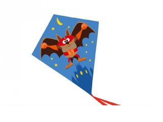 Papírsárkány szuperhős mintával, kerti játék (SC, 3-12 év)
