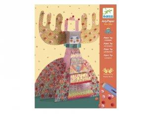 Papírszobor műhely, Miss Bliss (Djeco, 9665, kreatív játék, 7-13 év)