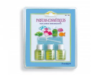 Parfüm utántöltő kozmetikumokhoz, Sentosphére kreatív készlet (700, 3x6 ml, 7-99 év)
