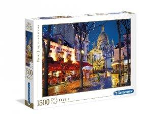Párizs Montmartre puzzle, 1500 db-os kirakó (CLEM, 9-99 év)