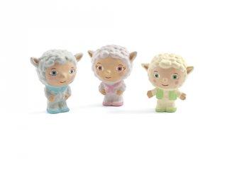 Patachoux család, 3 db figura (Djeco, 9140, műanyag szerepjáték, 2-6 év)