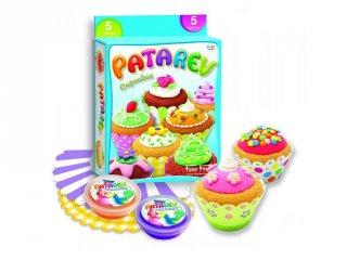 Patarev, Muffin készítő gyurma (Sentosphére, kreatív kézügyesség fejlesztő, 5-12 év)