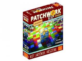 Patchwork Téli kiadás, kétszemélyes taktikai társasjáték (8-99 év)