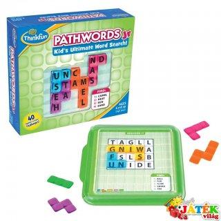 Pathwords junior (Thinkfun, egyszemélyes angol nyelvű szójáték, 6-99 év)