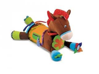 Pattanj nyeregbe, Melissa&Doug lovas plüss bébijáték (9 hó-2 év)