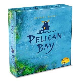Pelikán-öböl (Drei Hasen, Pelican Bay, partszakasz bővítős, stratégiai játék, 10-12 év)