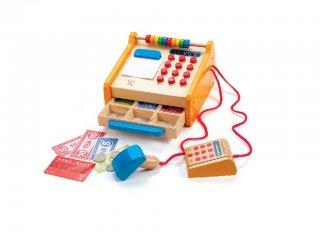 Pénztárgép (Hape, fajáték boltos szerepjátékhoz, 2-7 év)